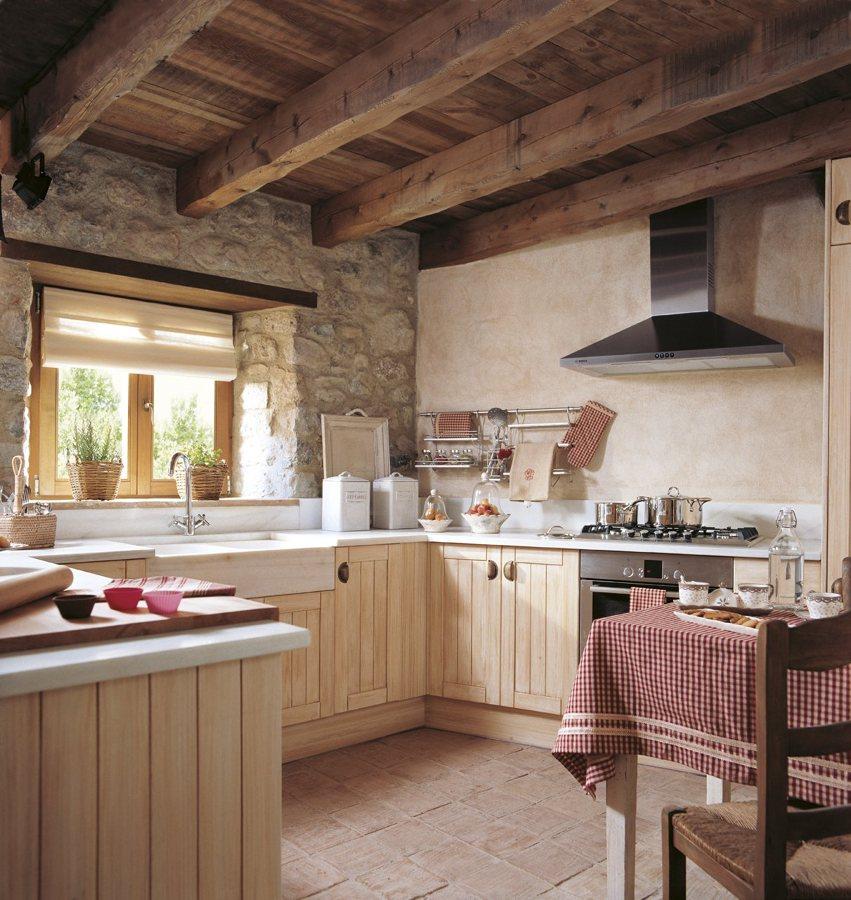 Deco estilo r stico en la cocina virlova style for Cocinas rurales