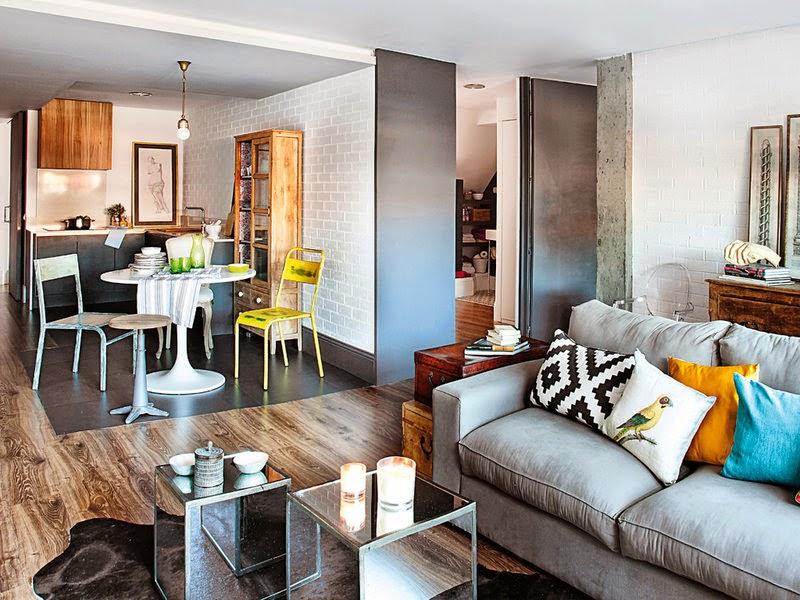 Interior reciclaje y mix lowcost muy chic virlova style for Decoracion pisos romanticos
