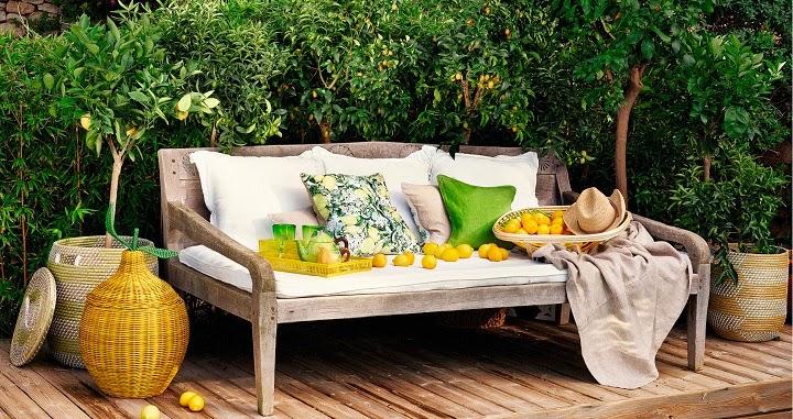 Deco primavera al aire libre renovar jardines y for Jardin al aire libre de madera deco