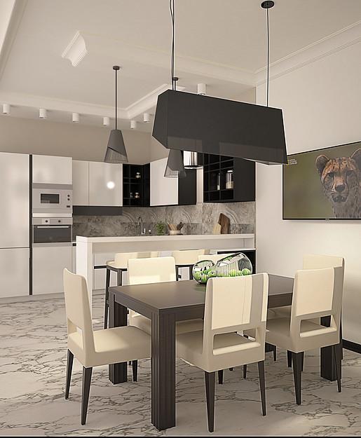 Projects apartamento lleno de luz y tonos empolvados for Apartamentos modernos minimalistas
