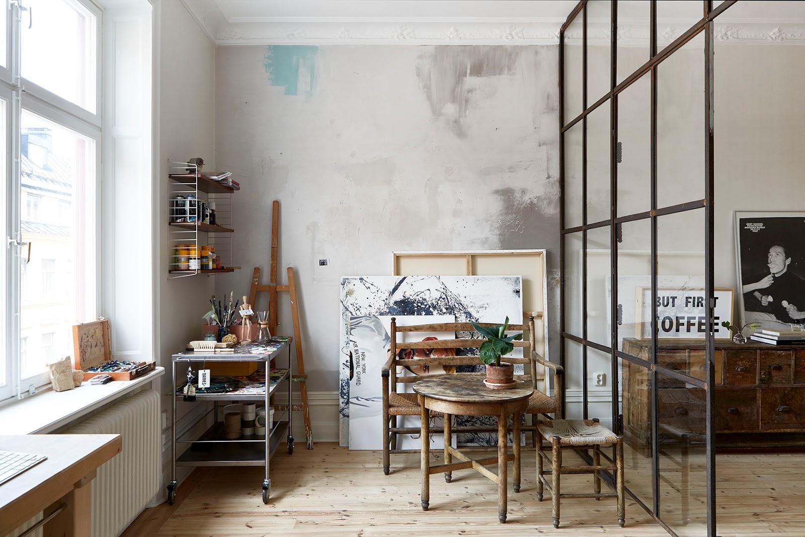 Home car cter industrial en mini loft virlova style - Estilos de interiorismo ...