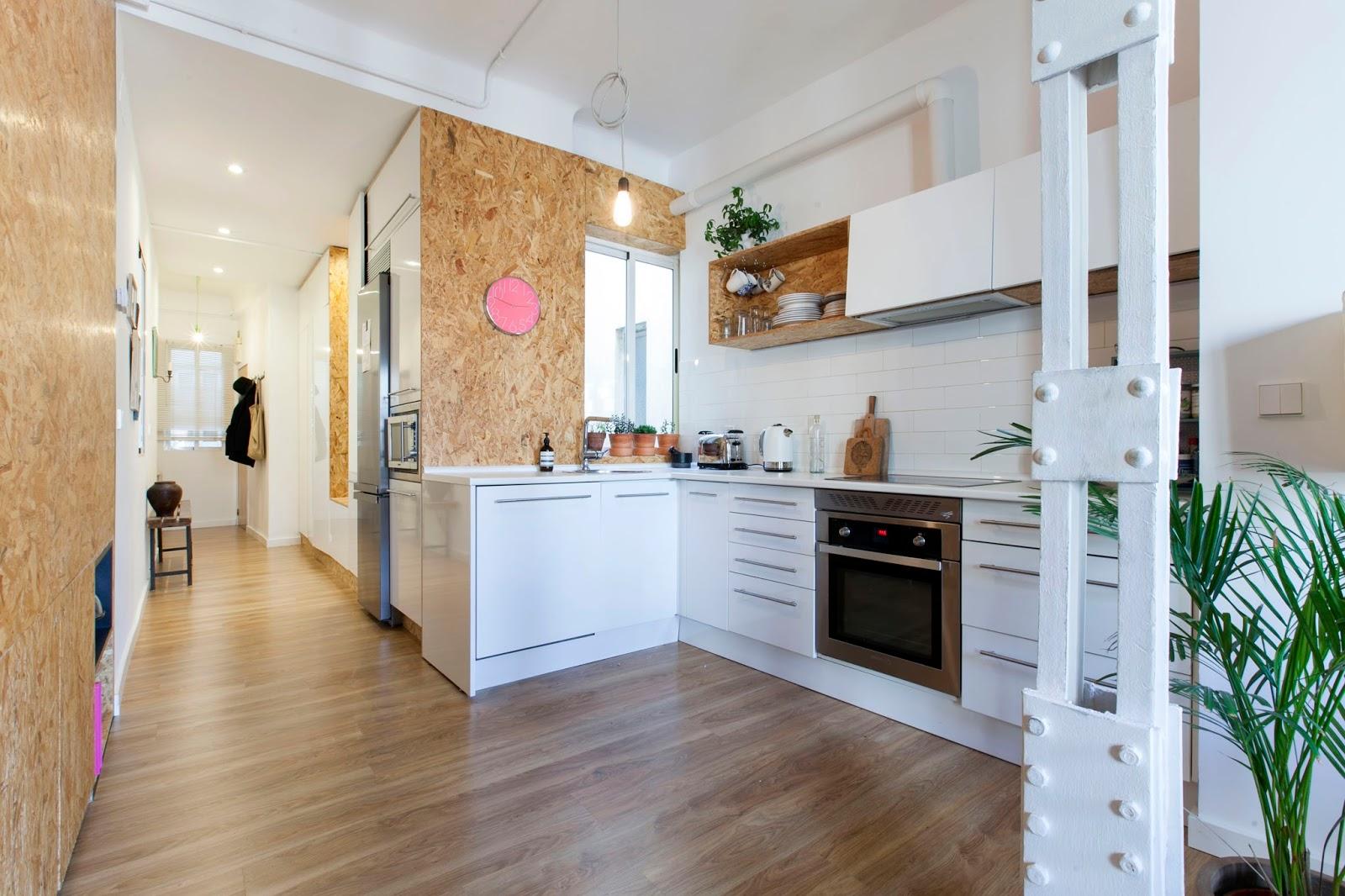 Interior marcado estilo vintage en femenino virlova style - Dimensiones ladrillo cara vista ...