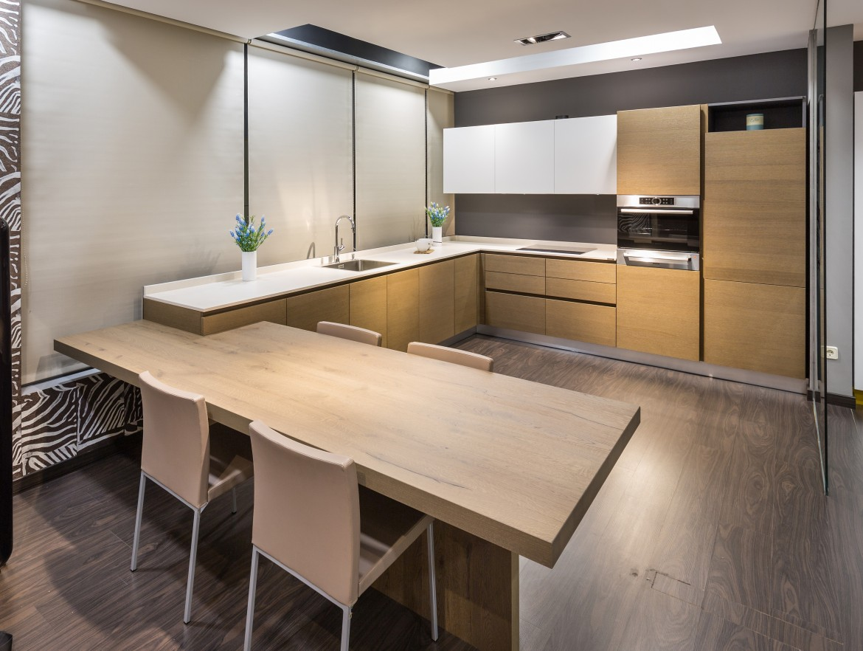 Deco tendencia en madera para la cocina virlova style for Fotos cocinas modernas 2016