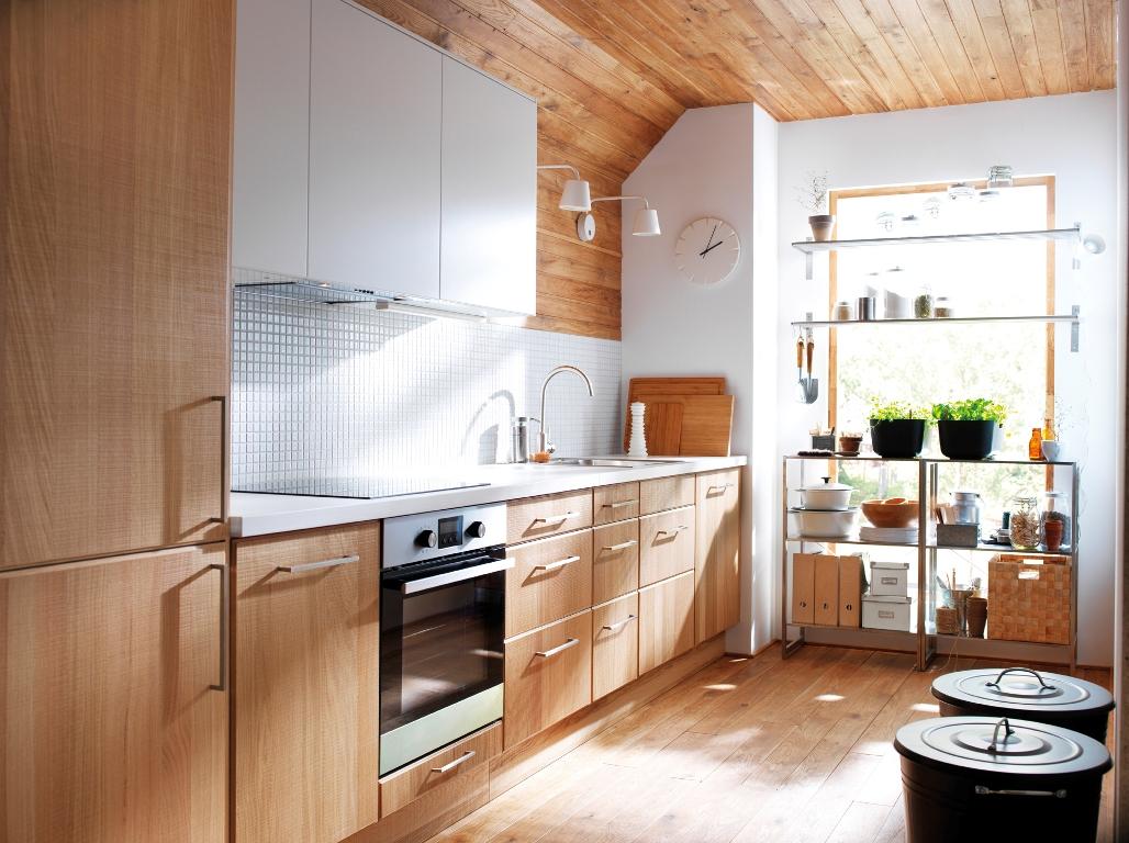 Deco tendencia en madera para la cocina virlova style - Cocinas blancas ikea ...