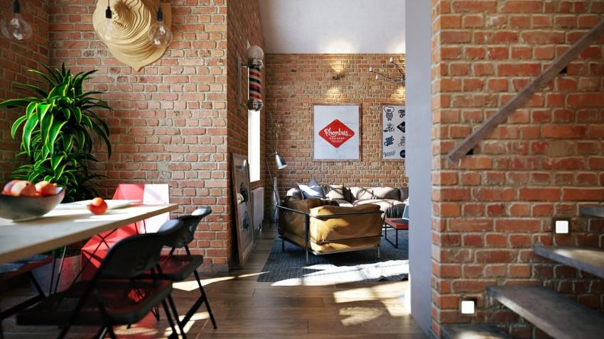 Interior estilo industrial inspirado en un loft virlova style - Virlova style ...