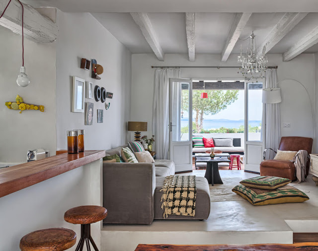 Interior estilo hippie chic en formentera virlova style - Soggiorno a formentera ...