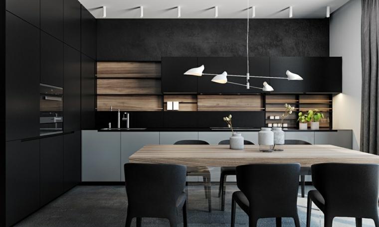 Decotips] Claves de diseño para una cocina en negro – Virlova Style