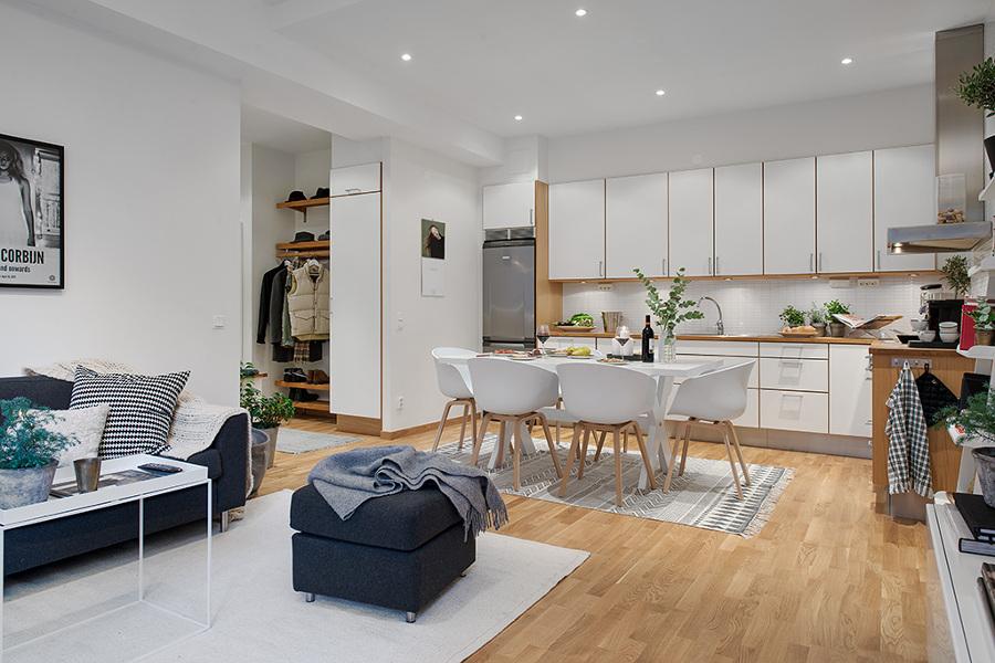 Decotips claves para crear una cocina abierta perfecta for Cocina y salon abierto