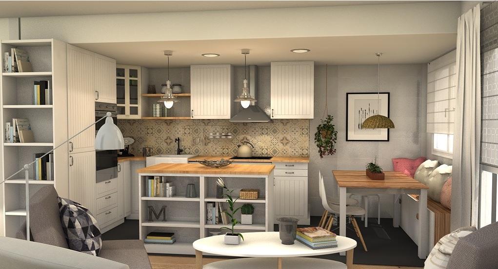 Decotips claves para crear una cocina abierta perfecta virlova style - Virlova style ...