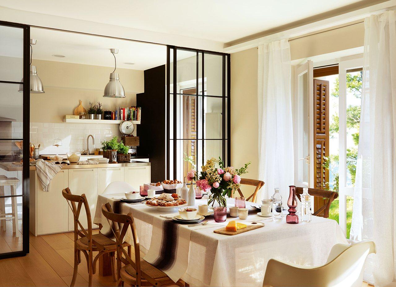 Decotips claves para crear una cocina abierta perfecta for Muebles para cocina comedor