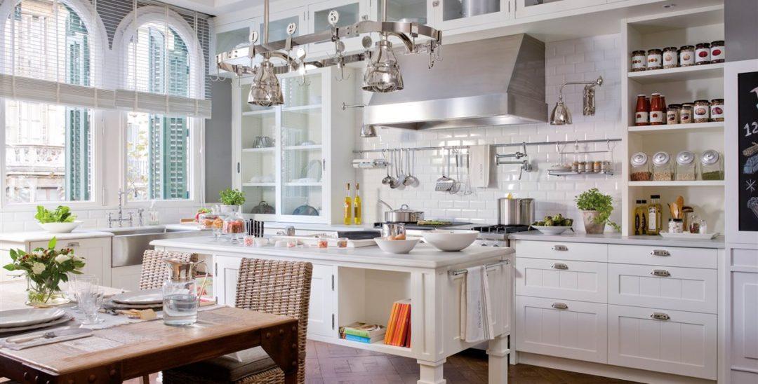 Deco american style en la cocina virlova style for Cocina americana con isla