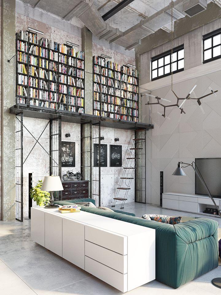 Bibliothèque en hauteur