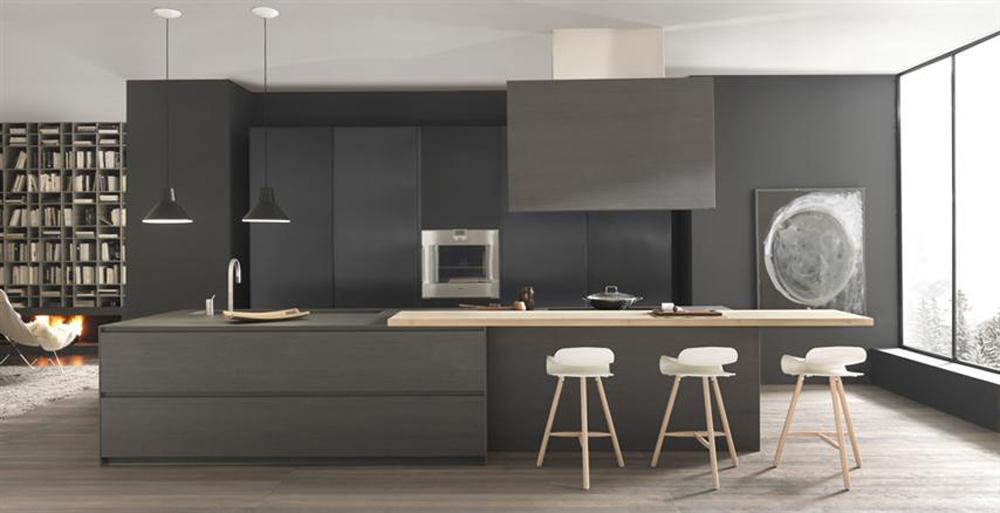 Cocinas invisibles o como esconder los electrodom sticos for Como ubicar la heladera en la cocina