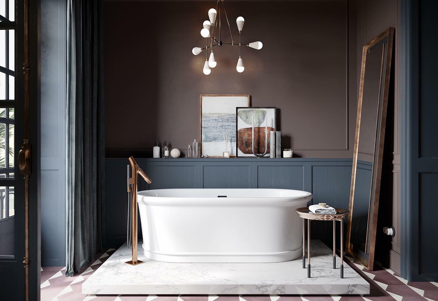 Fantástico Baño Enmarcado Refleja Bricolaje Ilustración - Ideas ...