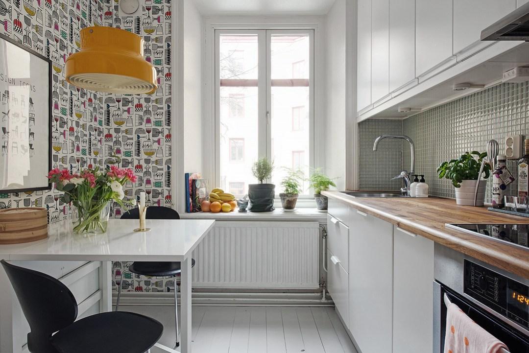 Decotips Papel Pintado En La Cocina Virlova Style