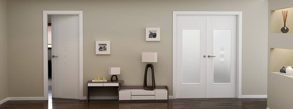 Mi casa con puertas lacadas virlova style - Decoracion puertas blancas ...