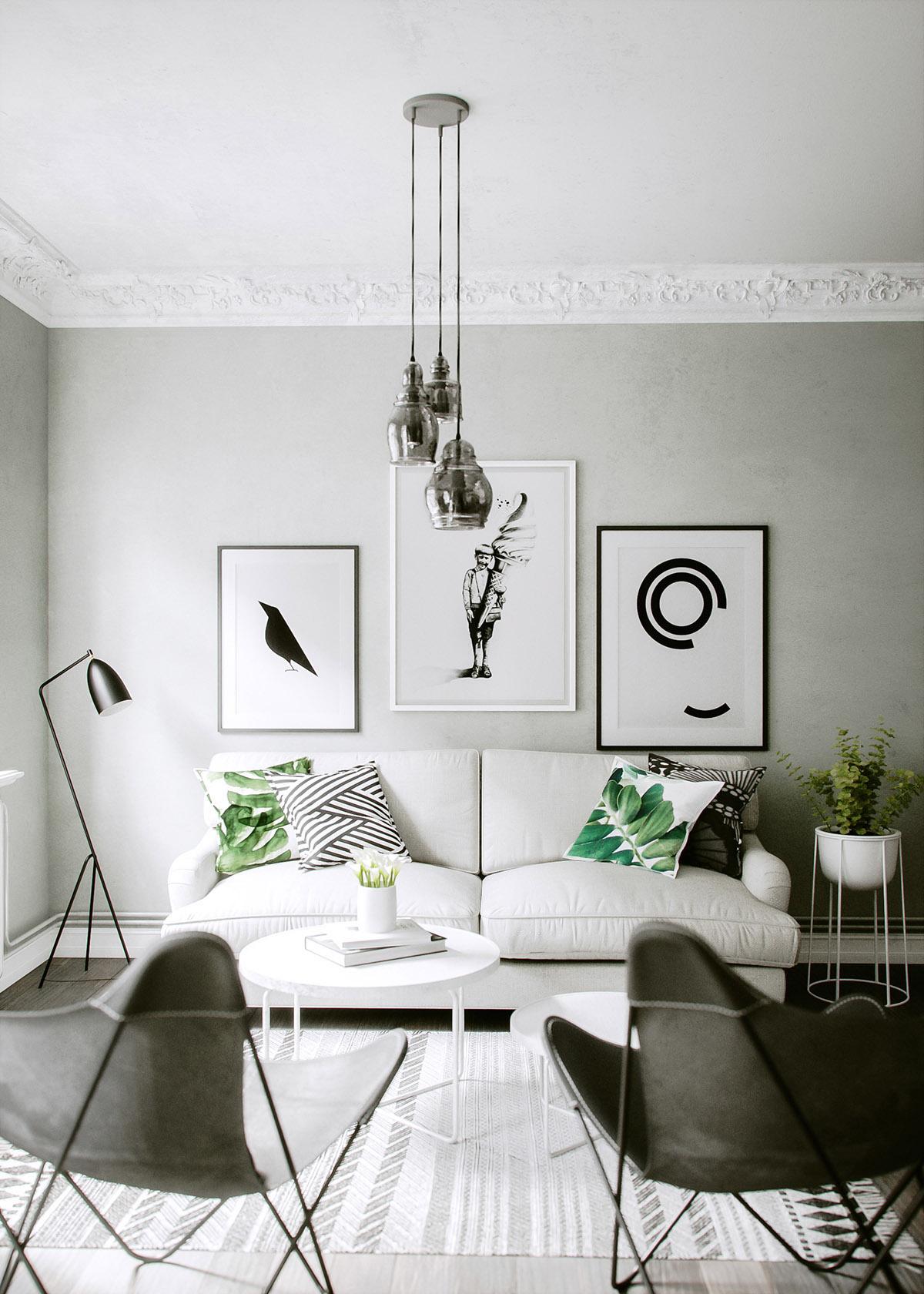 Deco en verde y gris virlova style - Leroy decoracion ...