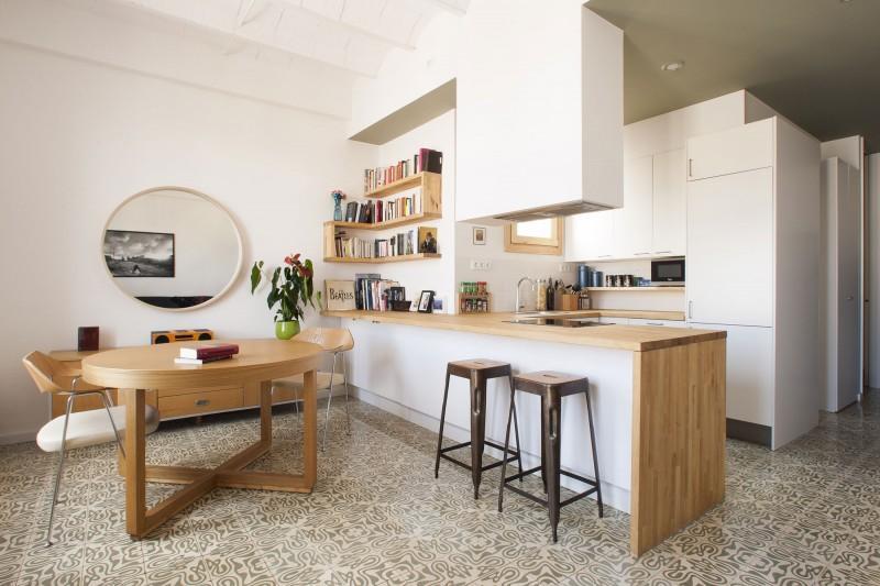 Decotips la cocina el nuevo sal n de casa virlova style - Cocinas con tarimas ...