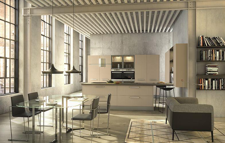 Decotips la cocina el nuevo sal n de casa virlova style for Cocina unida al salon