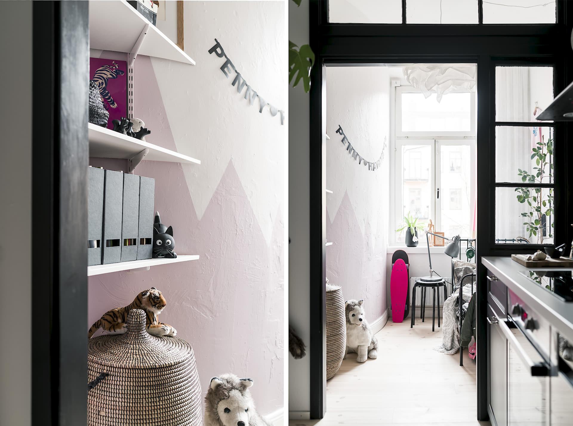 Interior peque o con aire industrial virlova style - Virlova style ...