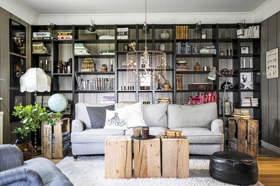 Interior vintage inspiration virlova style for Como disenar una estanteria