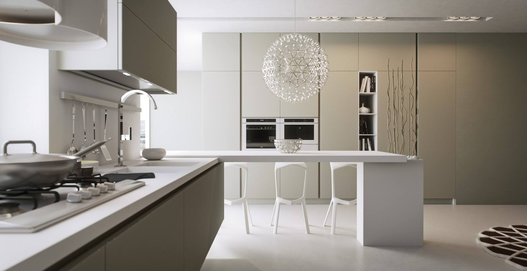 Decotips tendencias en cocinas para 2018 virlova style for Tendencias muebles