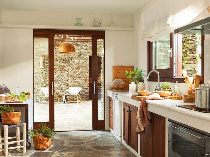 Decotips cocina abierta al jard n virlova style for Cocinas para jardin