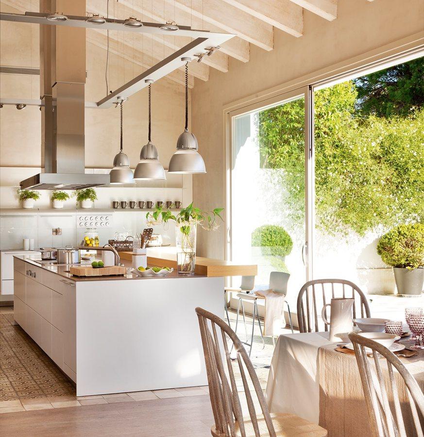 Decotips cocina abierta al jard n virlova style - Virlova style ...
