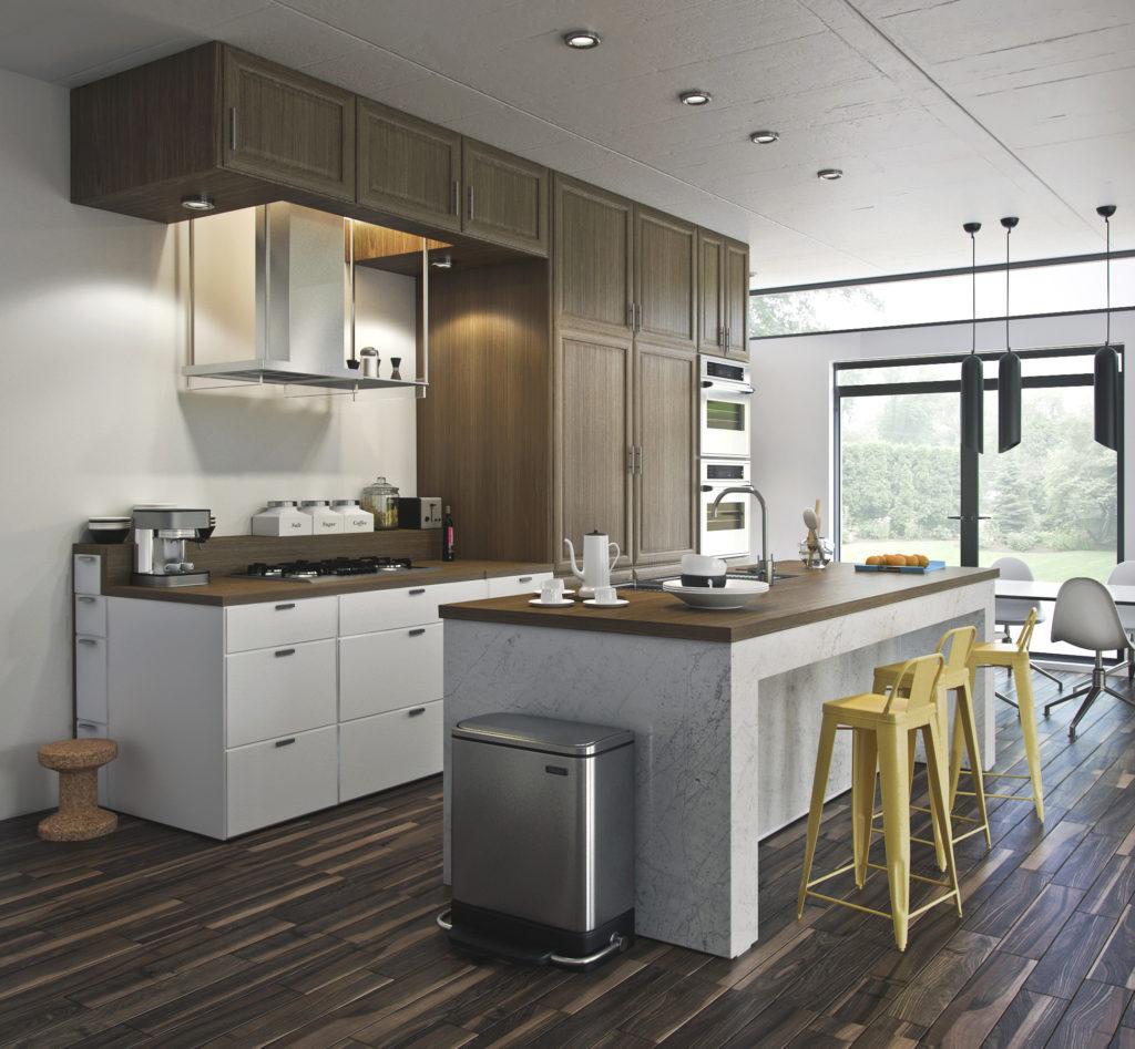 Decotips 5 trucos para decorar la cocina moderna y for Una cocina moderna