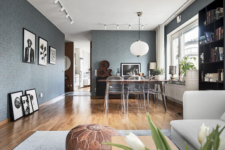 Interior en colores contraste virlova style for Casa minimalista interior blanco
