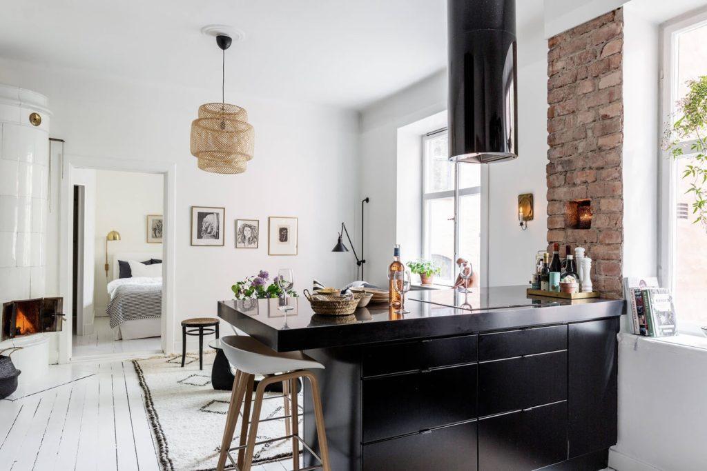 Deco] Mini apartamento con ladrillo – Virlova Style